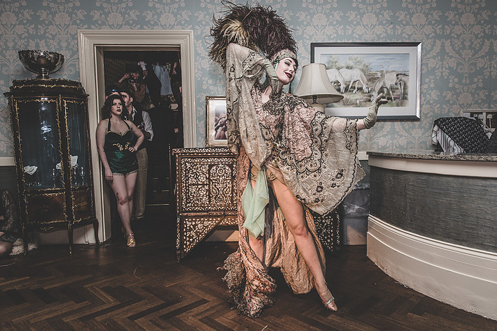 GIN-HOUSE BURLESQUE- Spring Time Revue