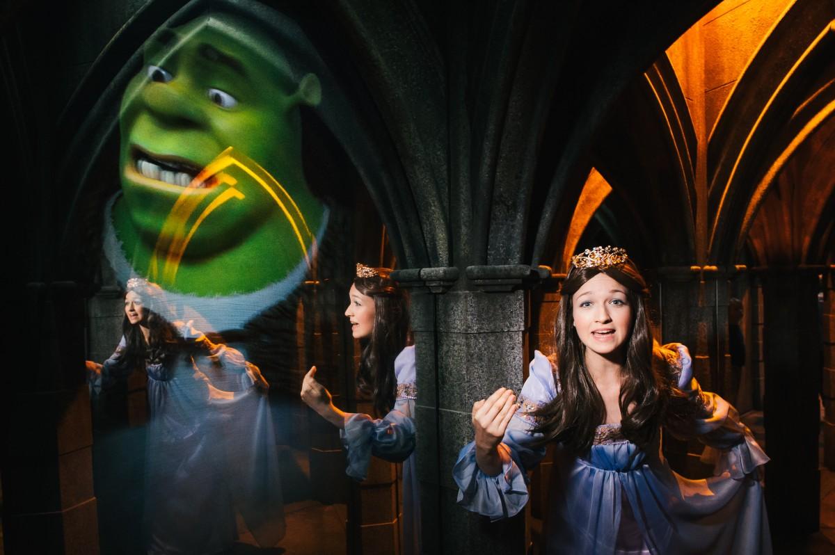 Shrek S Adventure Christmas Party London Theatre Arts