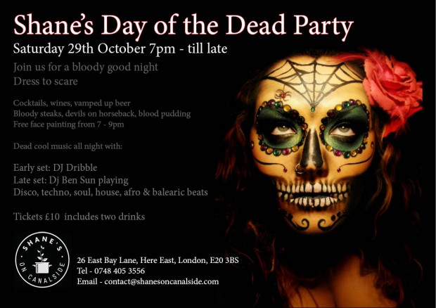 Day Of The Dead Night Of Fun Hackney London Food