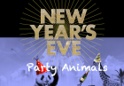 New Year's Eve 2016 - PARTY ANIMALS @ Covent Garden!