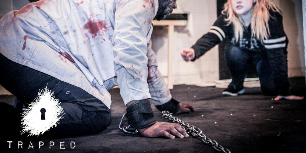 Trapped in a Room with a Zombie: An Immersive Escape Game