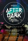 Brodie's After Dark - Every Thursday