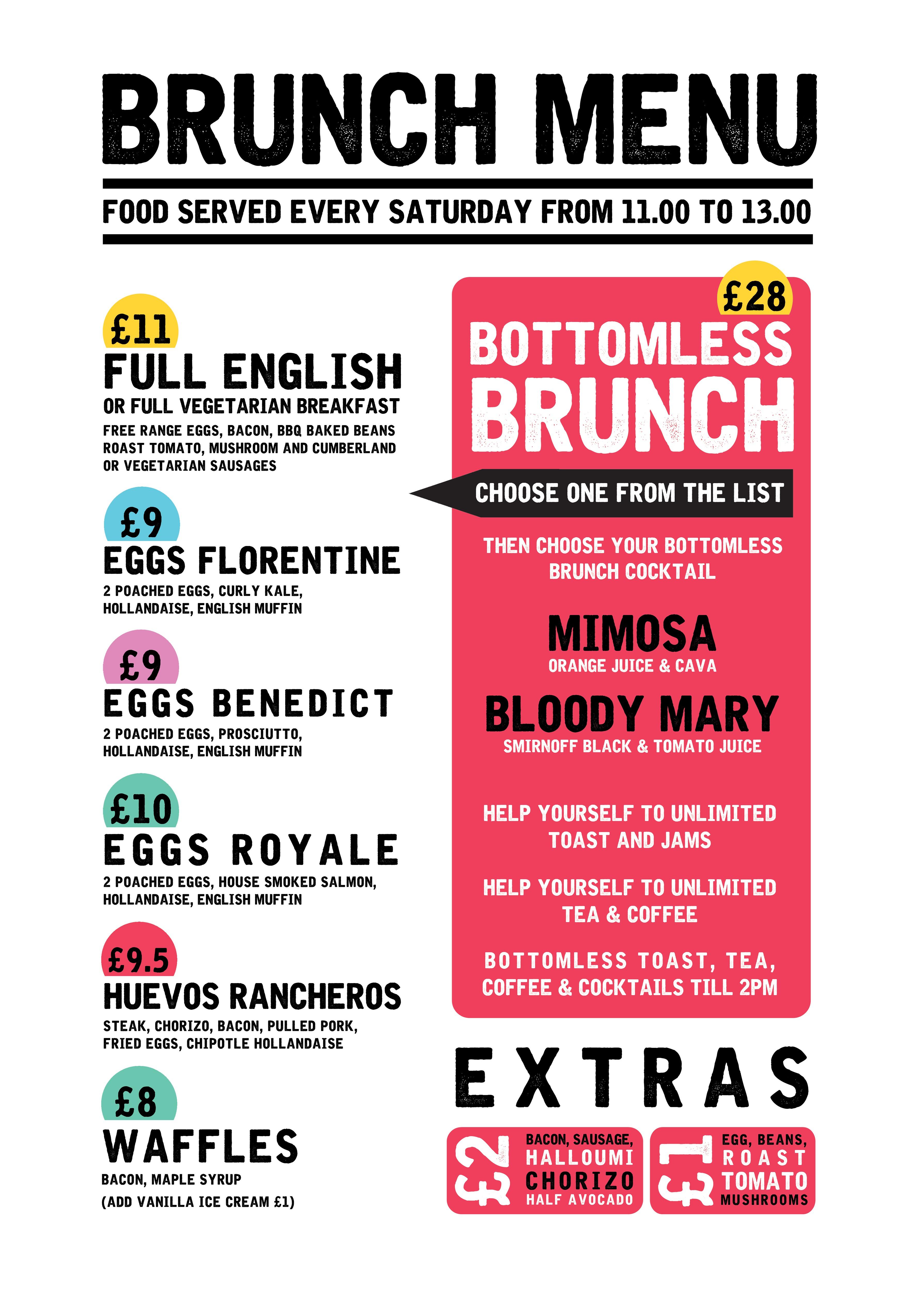 Boozy Bottomless Bingo Brunch People S Park Tavern London