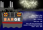 New Year's Eve on The Battersea Barge- Boat Party