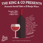 Food & Wine Pairing Evening with Donostia Social Club & El Botijo Wines