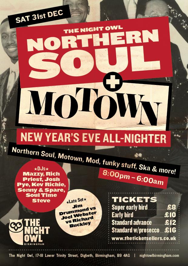 northern soul  u0026 motown nye all nighter