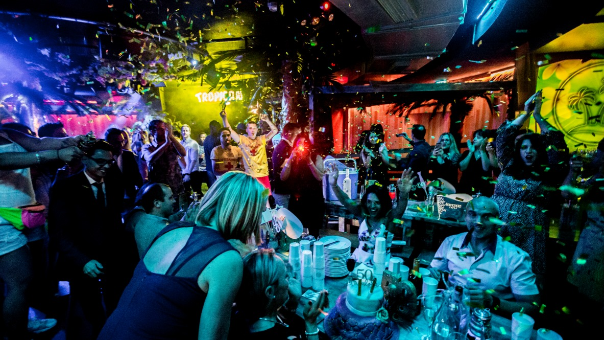 Tropicana Beach Club Late-night bar and restaurant opens in place of Covent Garden's Guanabara