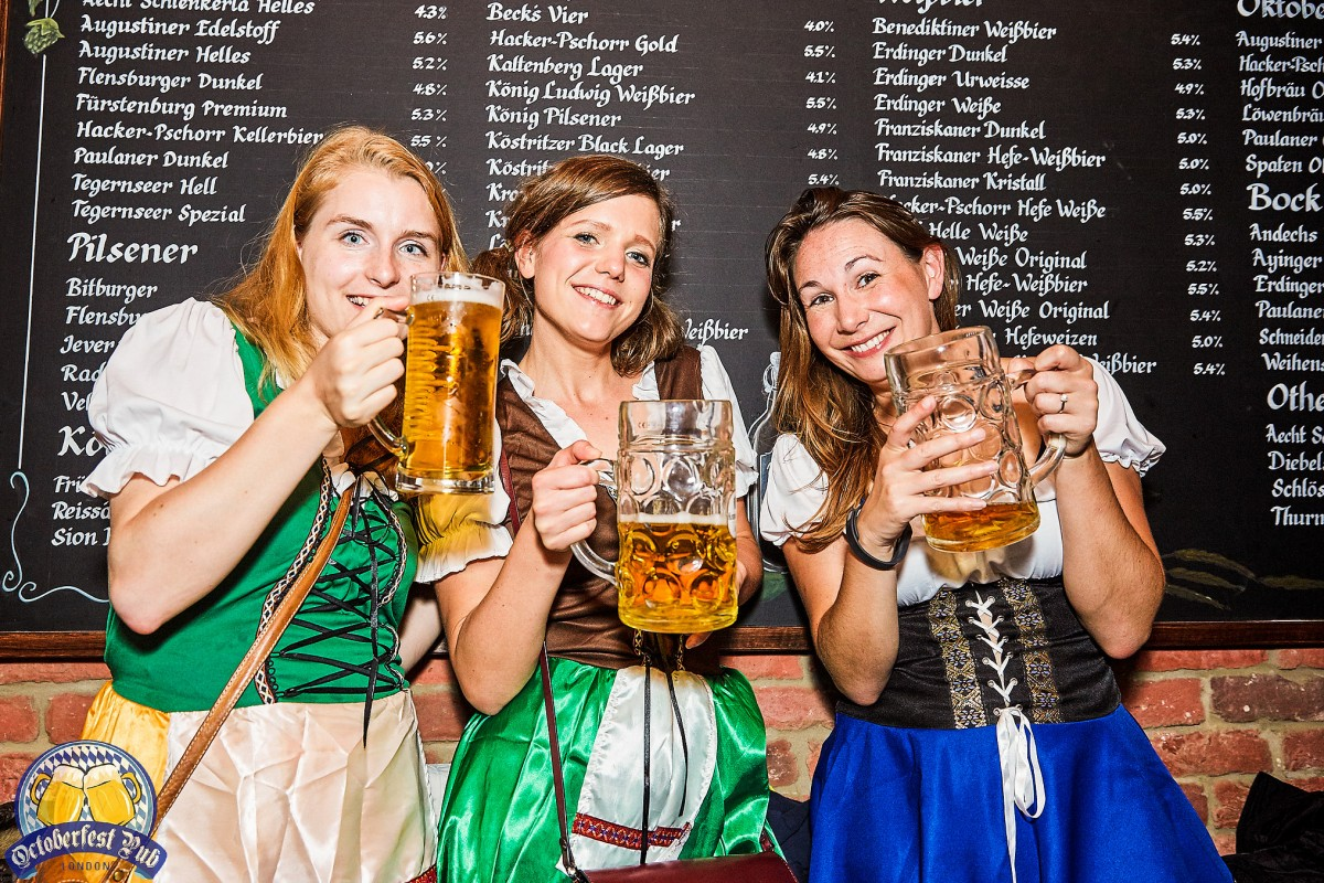 Oktoberfest comes to London