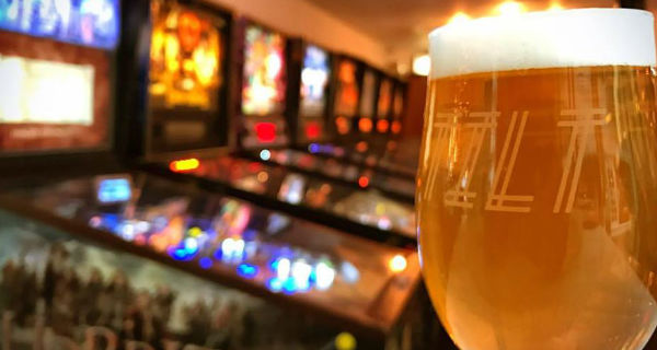 Tilt Off-kilter cafe bar comes to City Arcade busting out a pinball hall