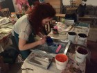 Screen Printing at The Doodle Bar