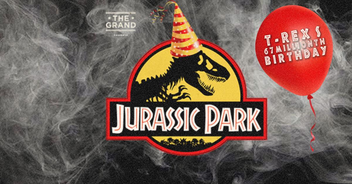 Jurassic Park T Rex S 67 Millionth Birthday Clapham