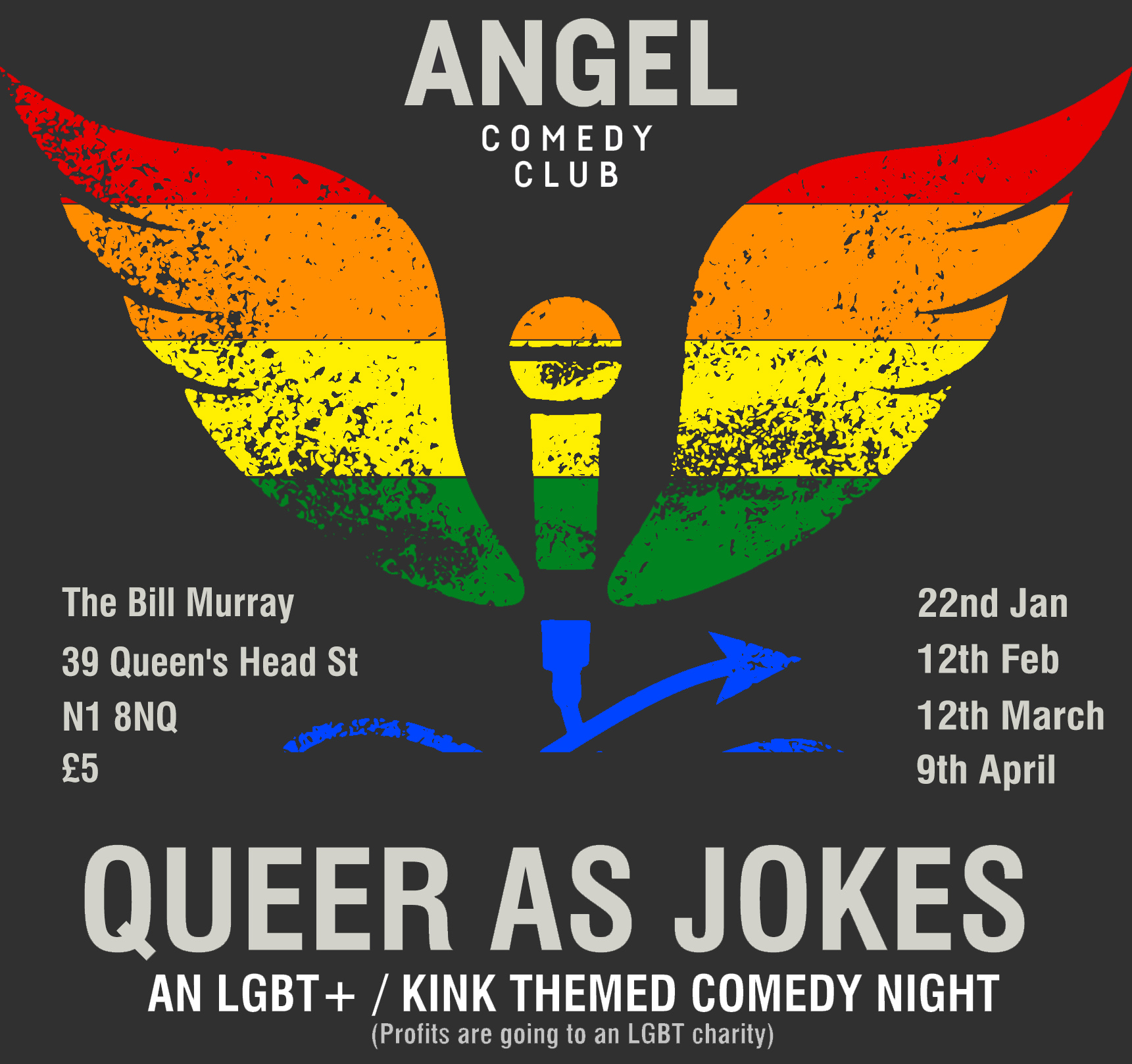 Queer as Jokes - Sept 2017 - Bi Visibility Day special.
