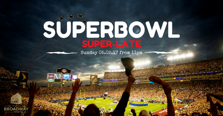Superbowl Super-late