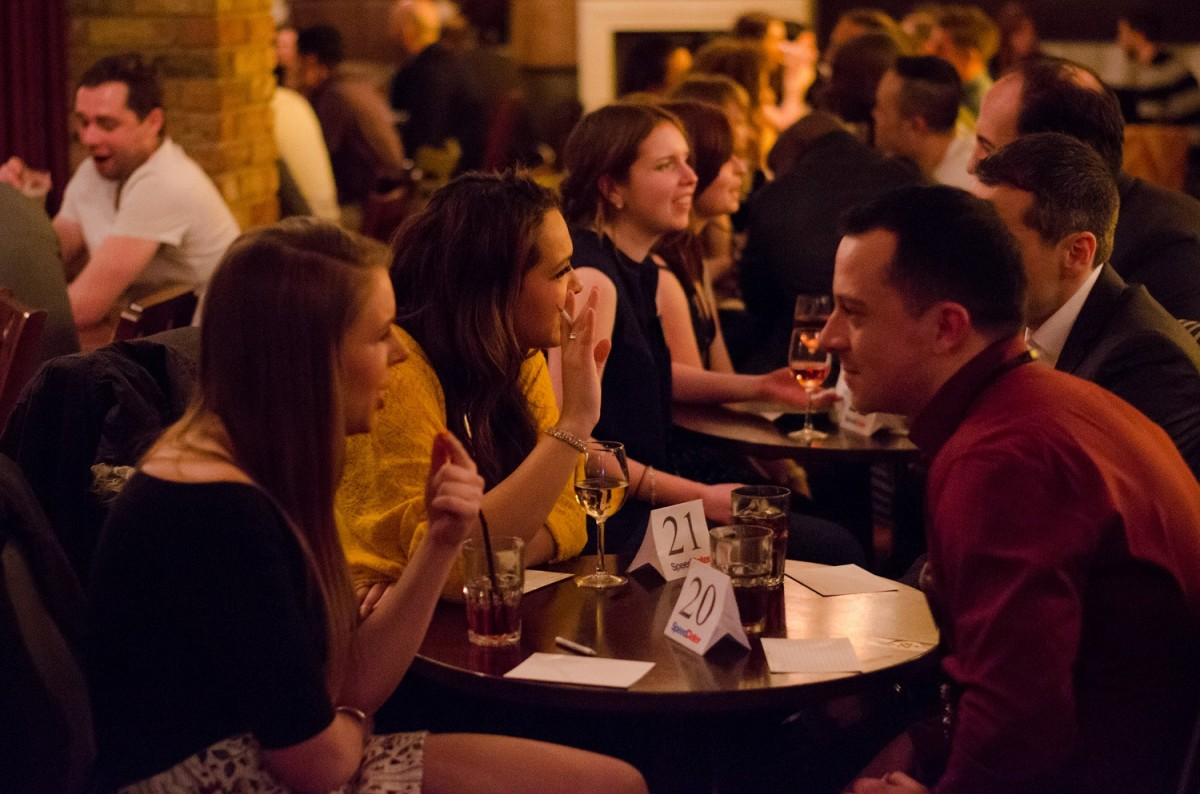 Speed dating events London edition