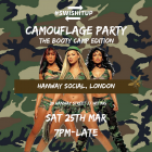 SwishitUp™ Camouflage Party: The Booty Camp Edition