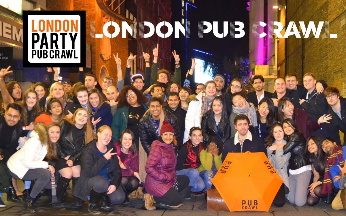 London Bar Crawl - Fridays