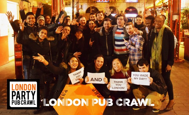 London Party Pub Crawl - Central photo