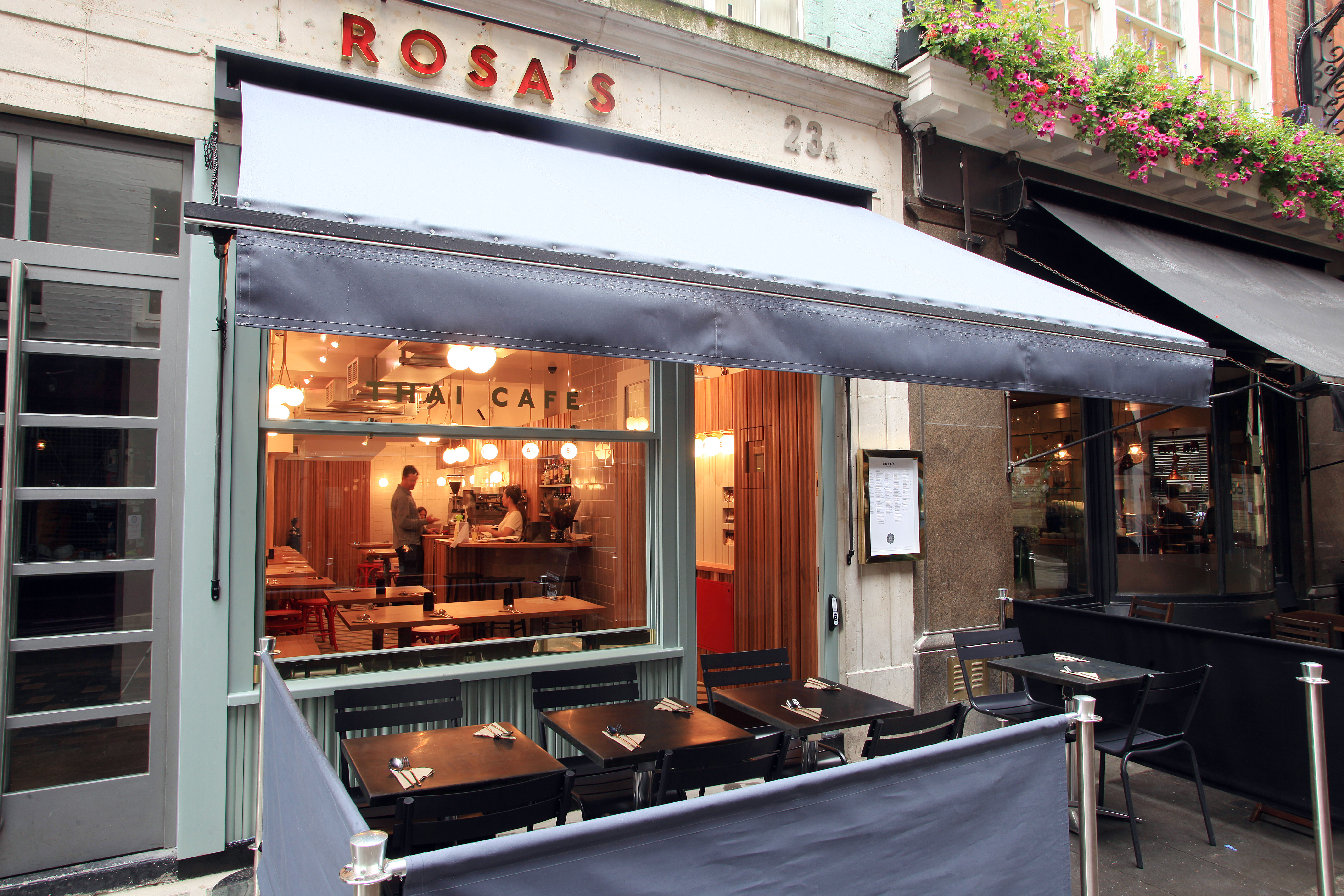 Rosa's Thai Cafe Carnaby