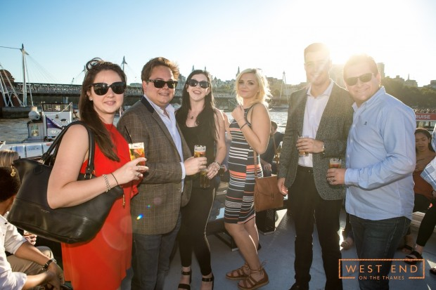 West End on the Thames - Private Rooftop Summer BBQ Cruise photo