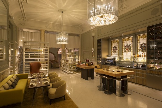 Champagne Bar at Andaz Hotel photo