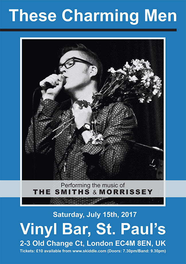 These Charming Men Smiths Amp Morrissey Tribute St Pauls