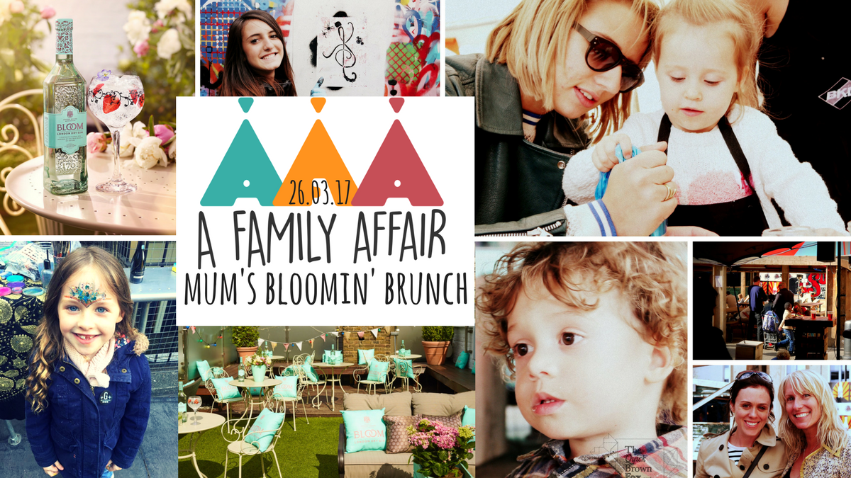 A Family Affair present Mum's Bloomin' Brunch