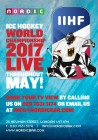 IIHF games live at Nordic