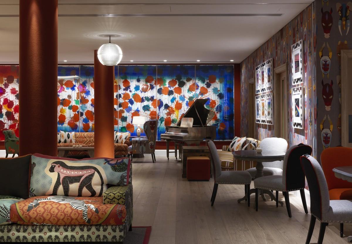 firmdale art walks ham yard hotel london designmynight. Black Bedroom Furniture Sets. Home Design Ideas