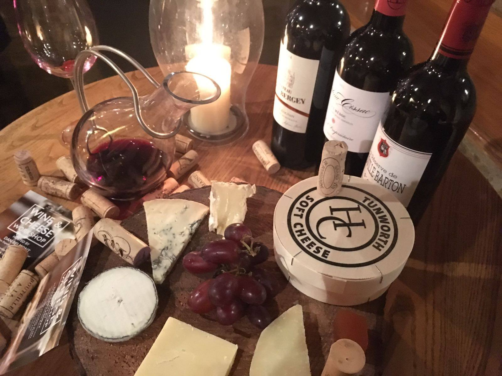 Premium Wine & Cheese Workshop: OXNEY Organic Estate