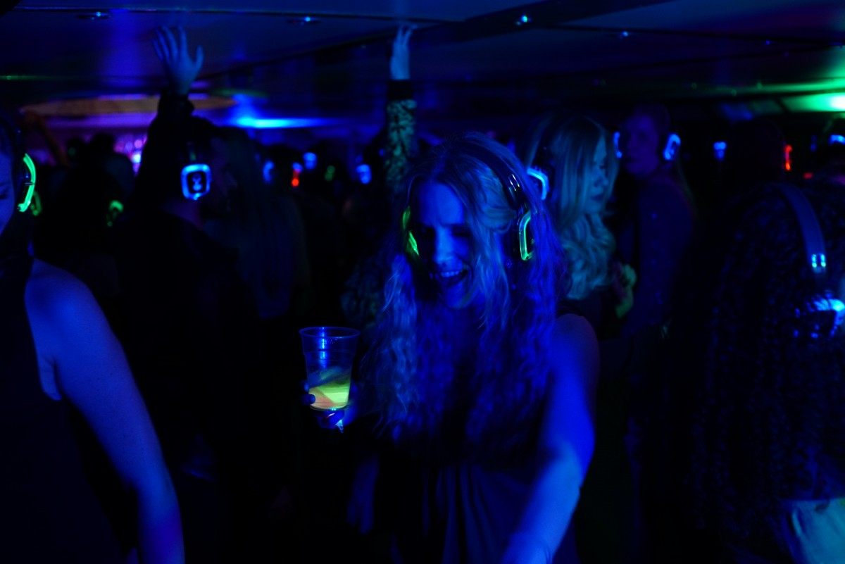 Silent Disco Christmas Party