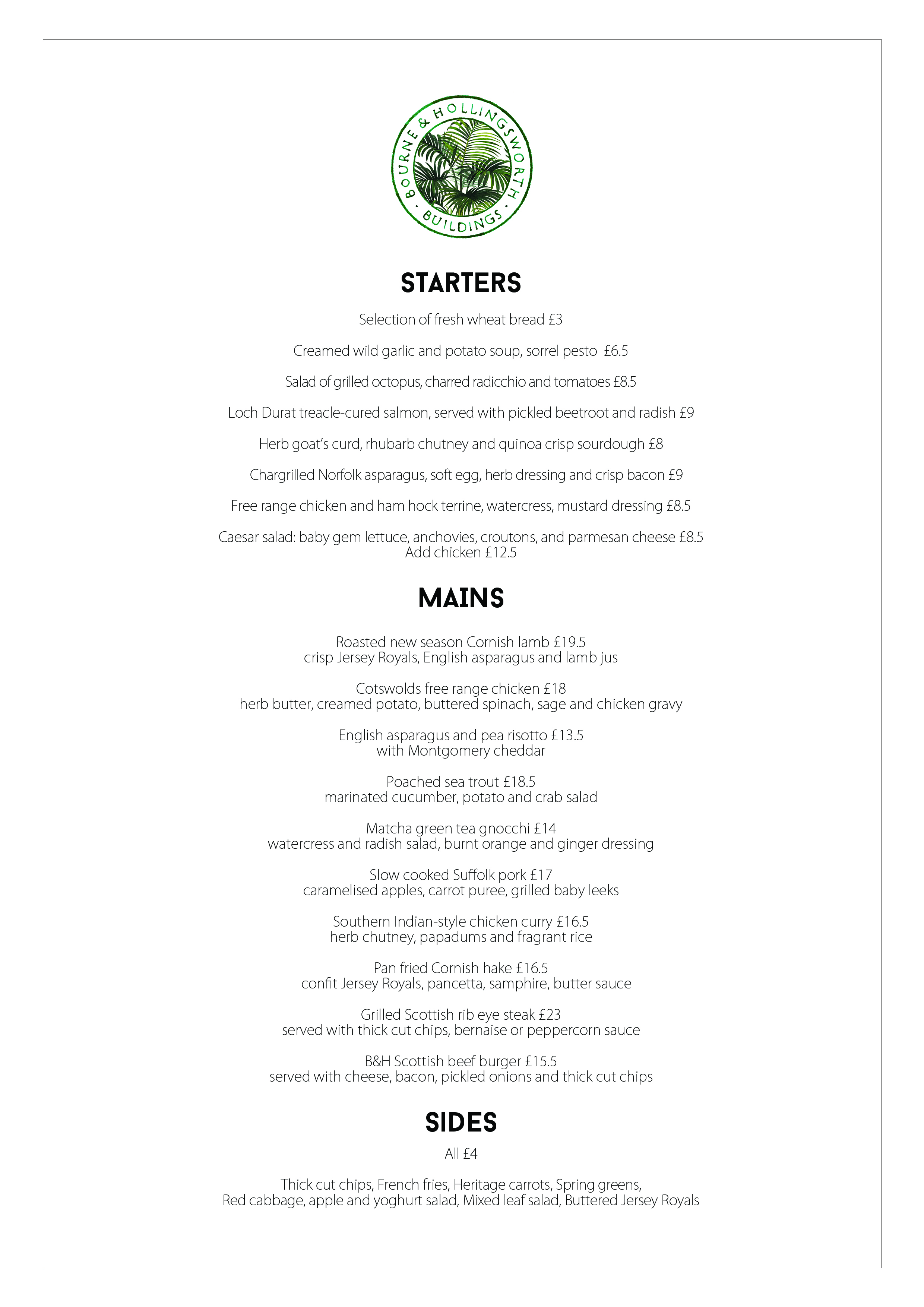 Bourne hollingsworth burn s night party bourne and for Burns supper menu template