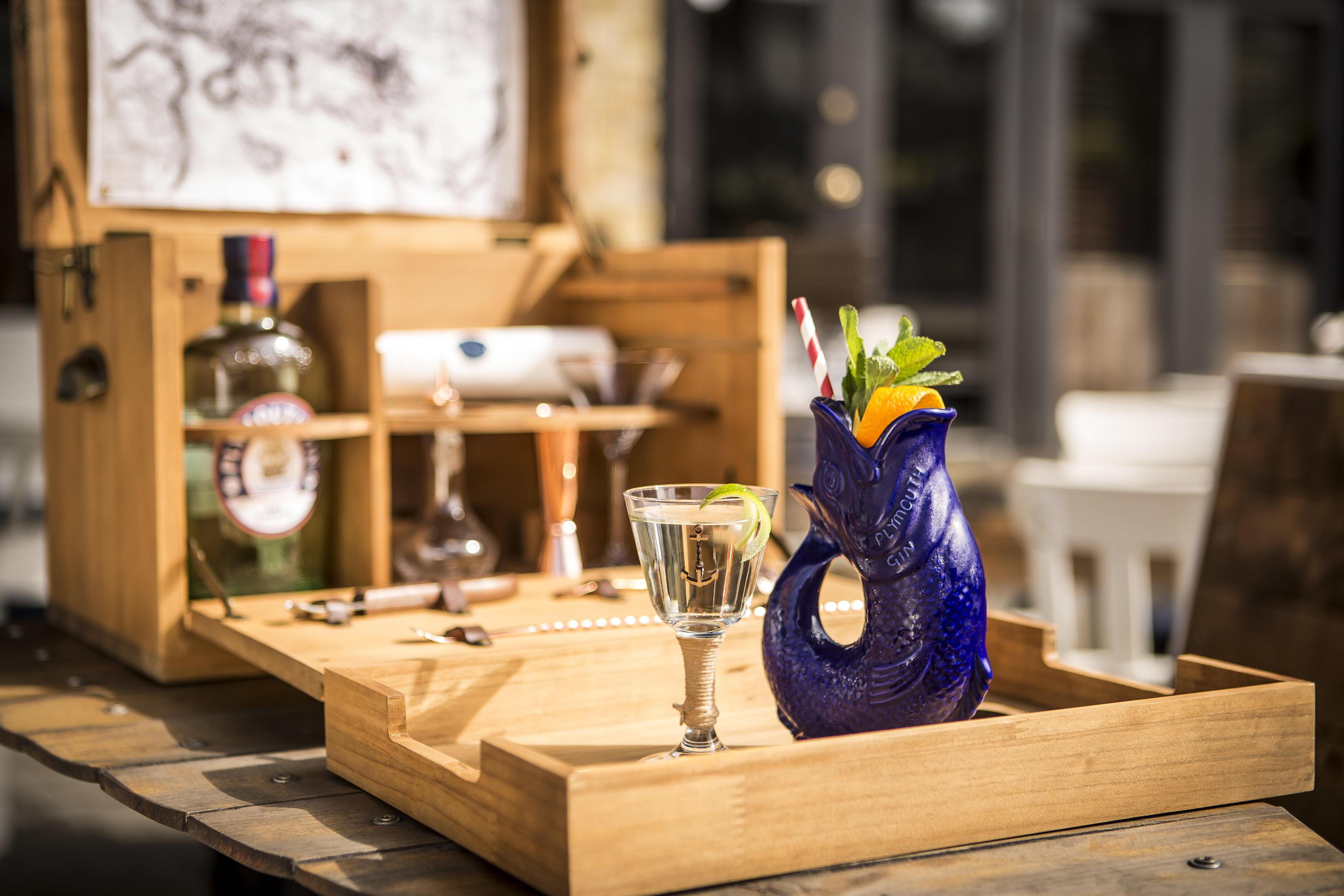Celebrate Tall Ships with a Plymouth Gin Masterclass