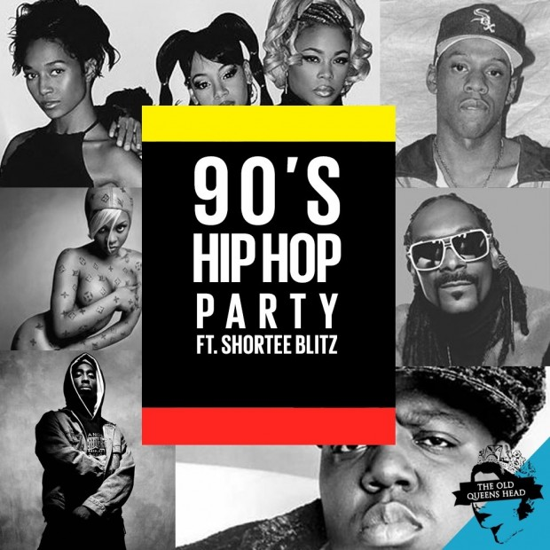 90's Hip Hop party with Shortee Blitz
