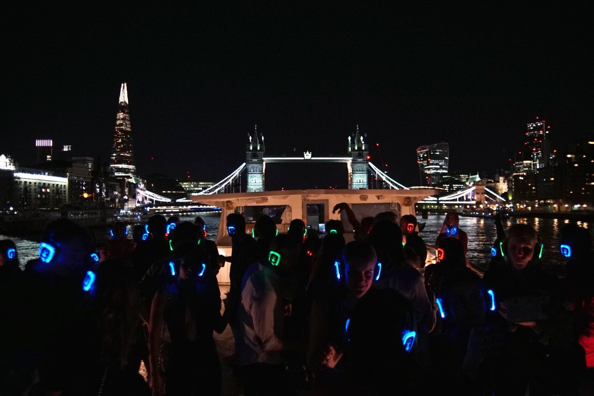 Christmas Boat Party London.Silent Disco Christmas Party London Boat Party Reviews