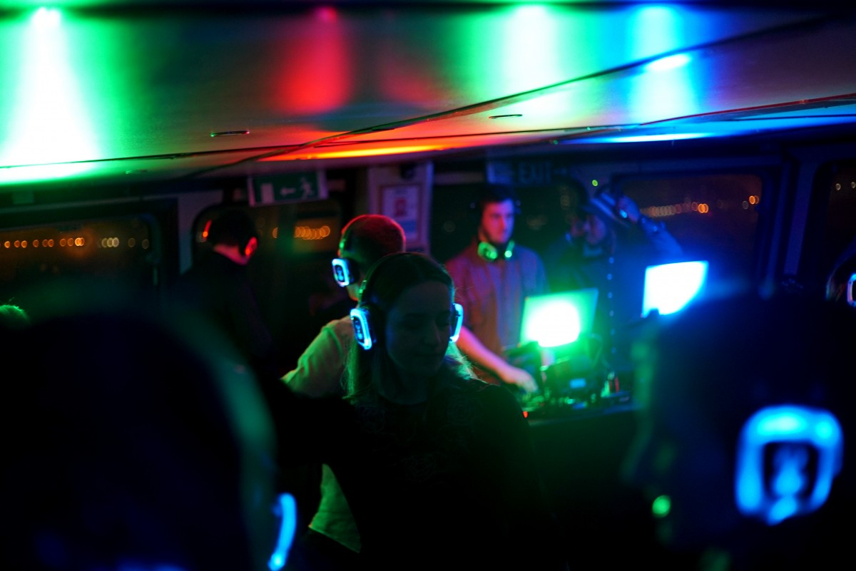 The Silent Disco Boat