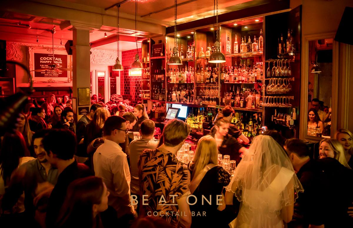 Be At One Bar Covent Garden Lyceum London Bar Reviews Designmynight