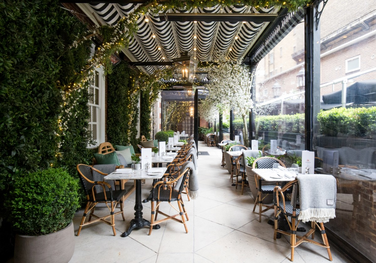 Dalloway terrace bloomsbury london bar reviews for The terrace restaurant and bar