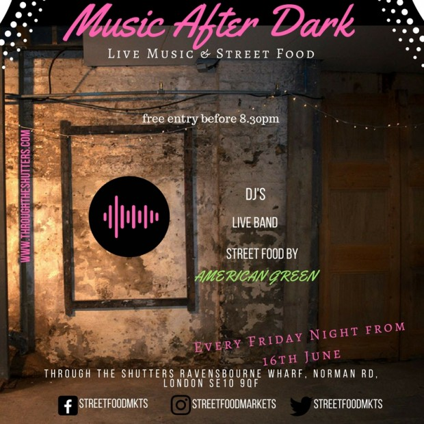 Music and Food After Dark