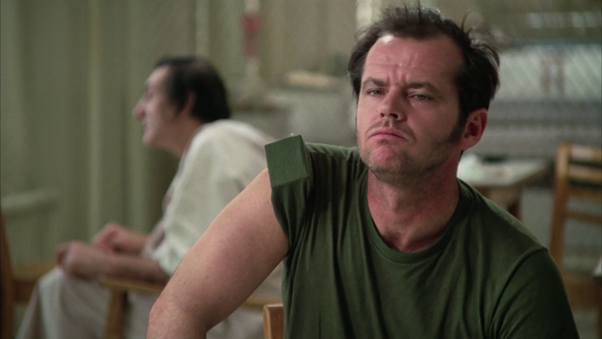 mise en scene in the movie one flew over the cuckoos nest One flew over the cuckoo's nest earned five (1984), which filmed scenes in czechoslovakia and earned him the one of the world's truly great movie.