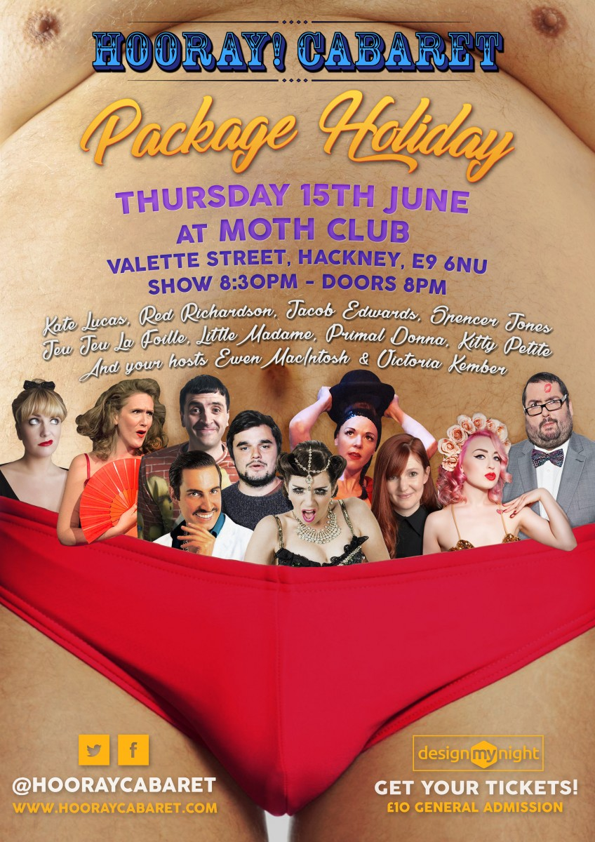 Hooray Cabaret's Package Holiday