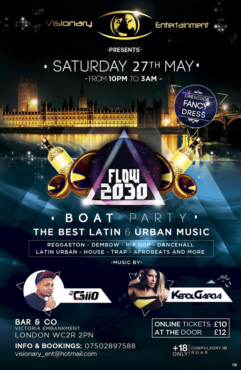 Flow2030 Boat Party Embankment London Boat Party Reviews