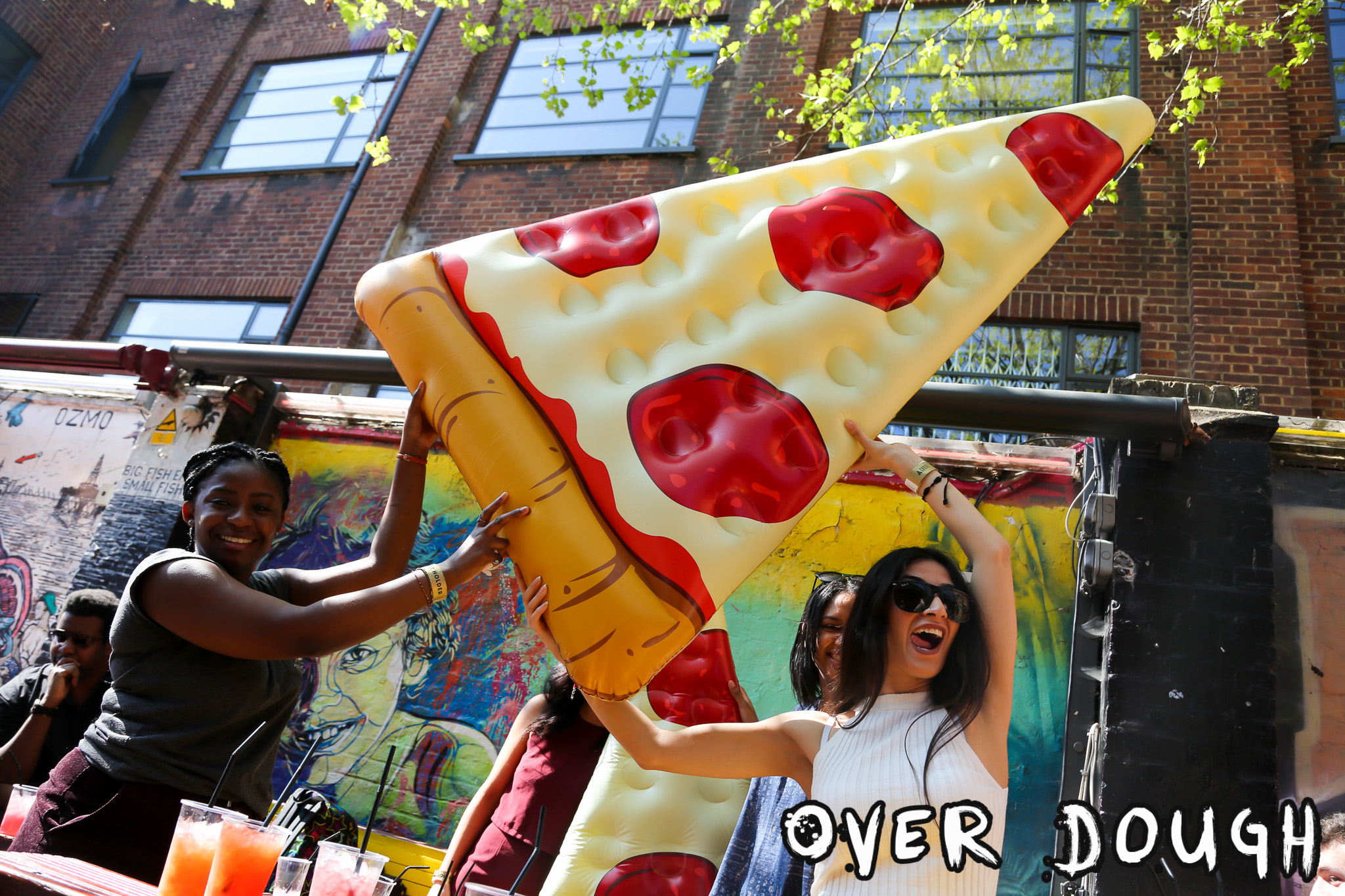 Overdough - the pizza party!