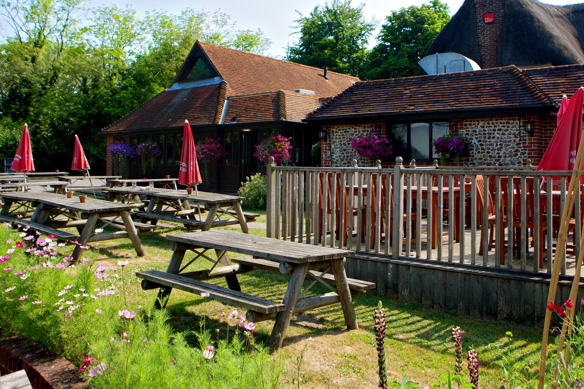 The Red Lion, Chalton - Merry Wives of Windsor