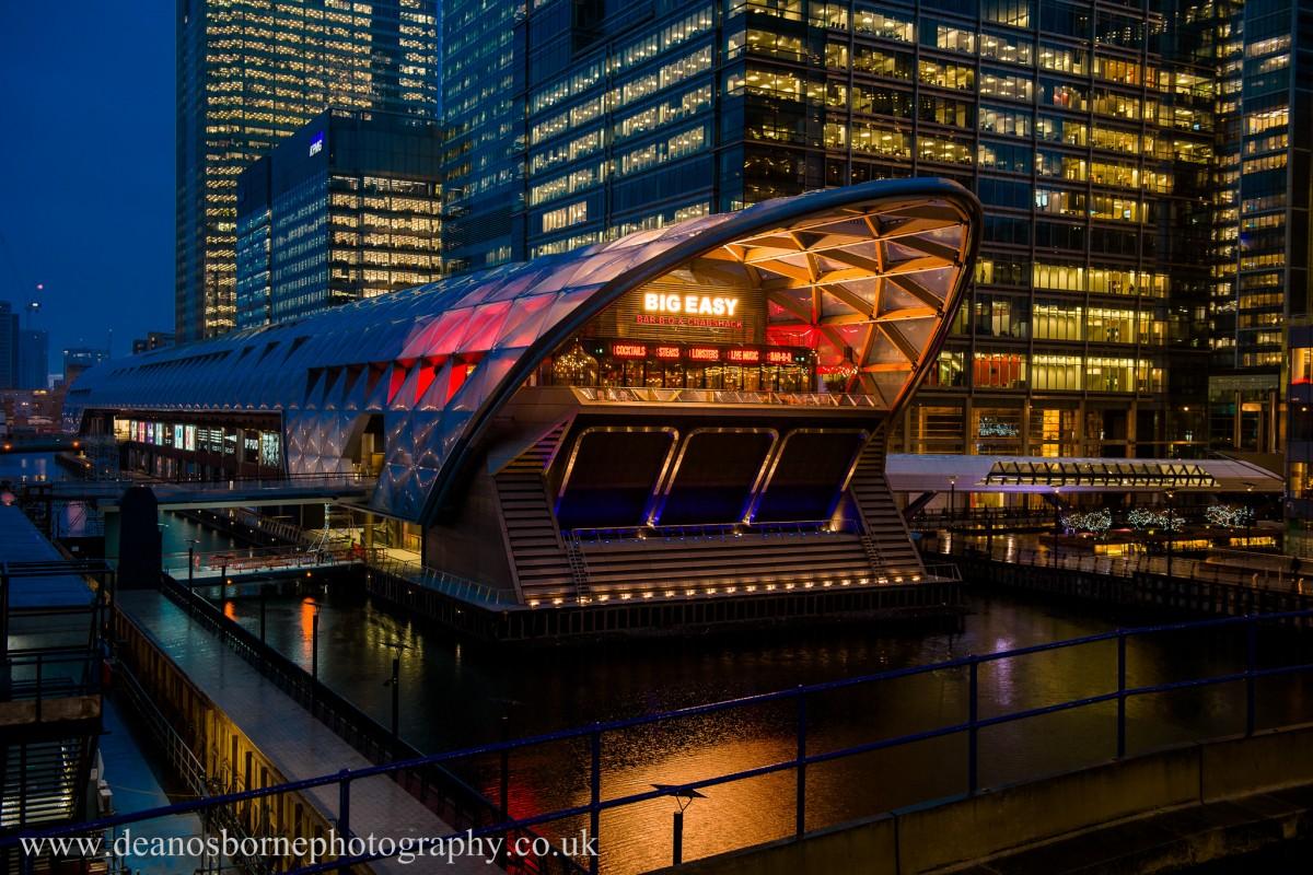 Big Easy Canary Wharf   London Restaurant Reviews ...