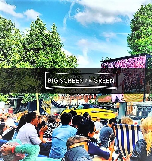 Live Wimbledon Tennis Finals, F1 & TOP GUN (8pm) | Big Screen on the Green 2017