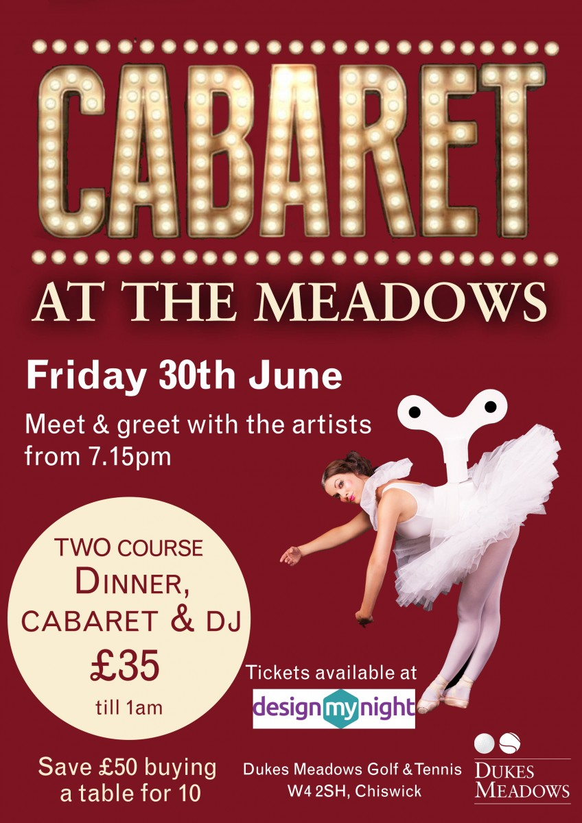 Cabaret at the Meadows