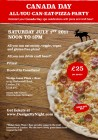 Canada Day Pizza and Beer Party