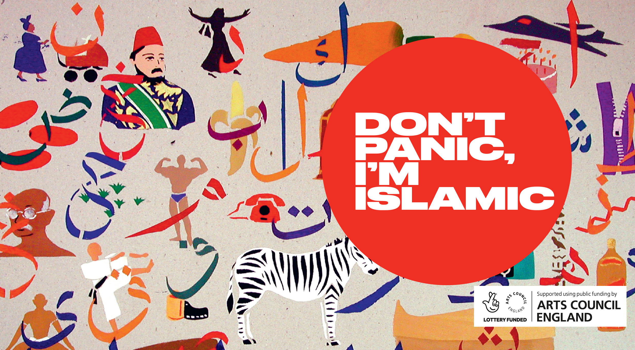 Don't Panic, I'm Islamic: Extreme Comedy NOW!