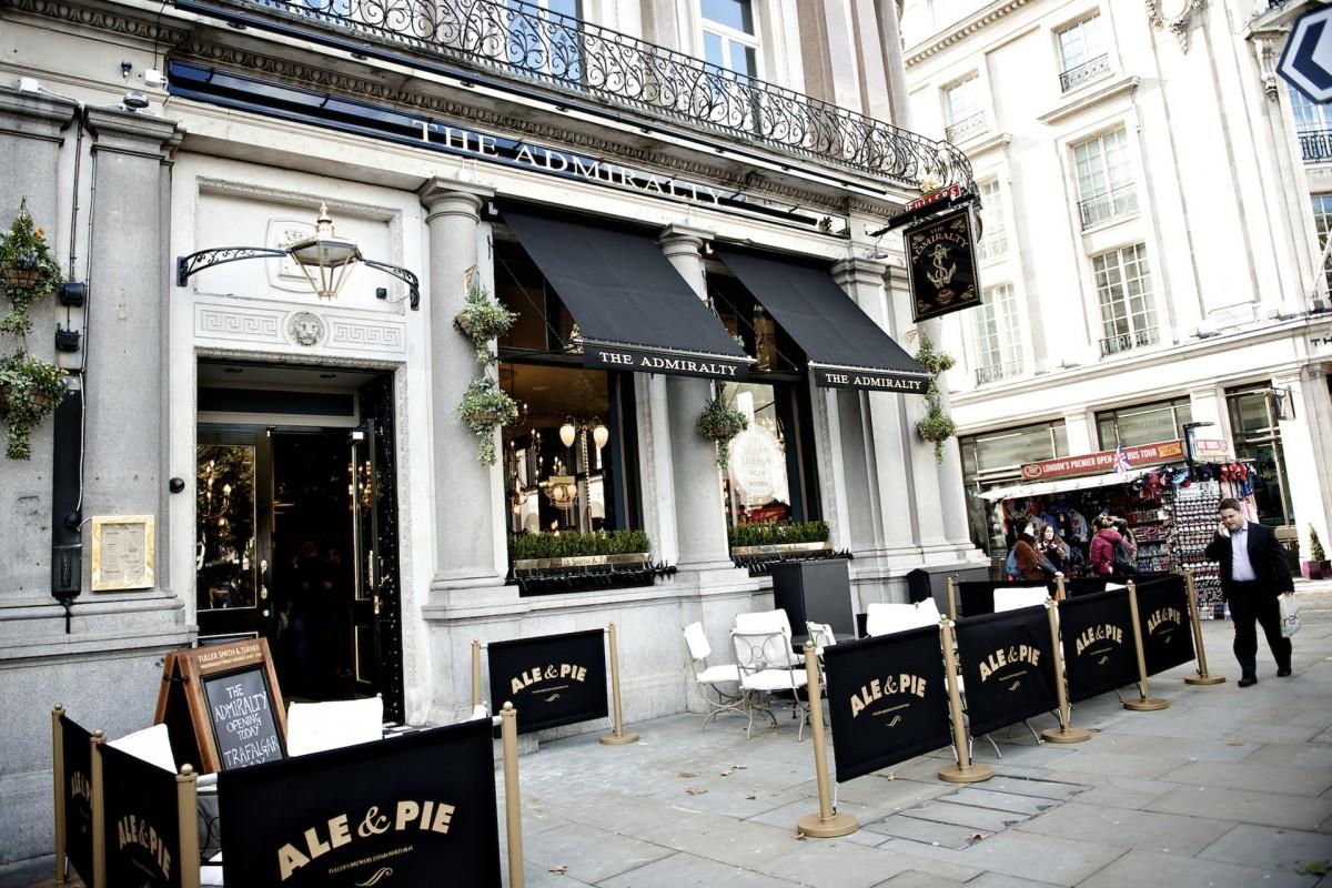 Best Pub Food London West End