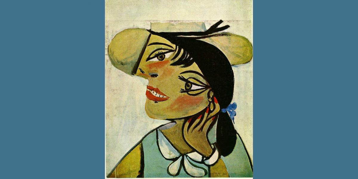 Masterpiece Painting Night - Picasso: Portrait de femme au col d ...